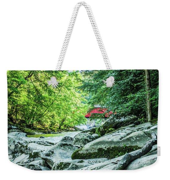 Slippery Rock Gorge - 1908 Weekender Tote Bag