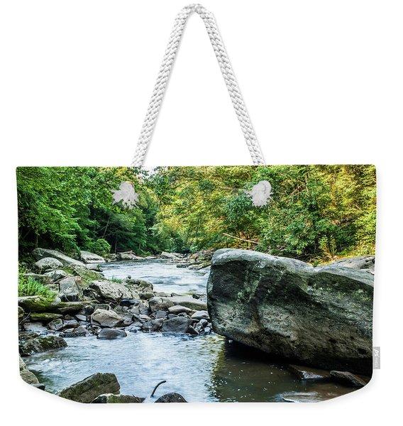 Slippery Rock Gorge - 1918 Weekender Tote Bag