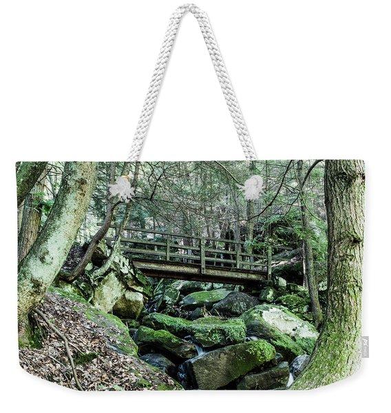 Slippery Rock Gorge - 1927 Weekender Tote Bag