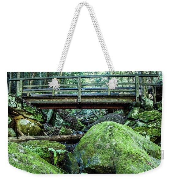 Slippery Rock Gorge - 1931 Weekender Tote Bag