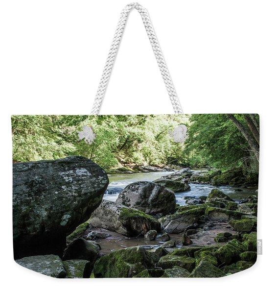 Slippery Rock Gorge - 1938 Weekender Tote Bag