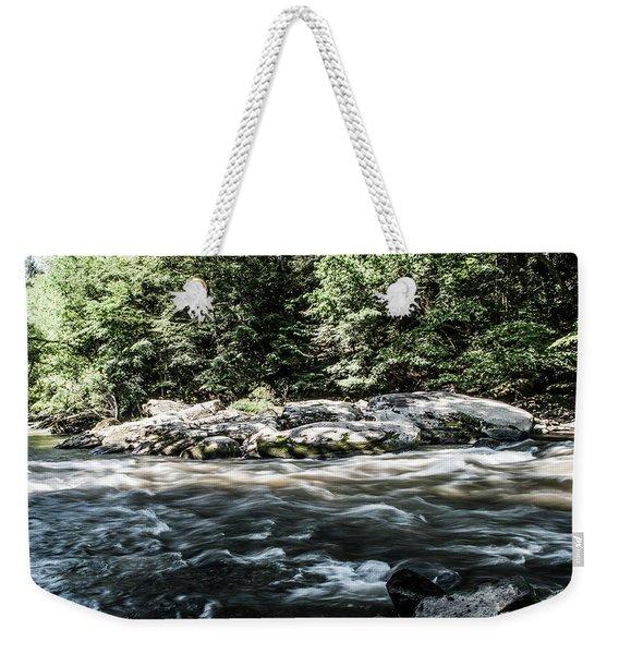 Slippery Rock Gorge - 1943 Weekender Tote Bag