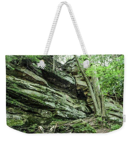 Slippery Rock Gorge - 1958 Weekender Tote Bag