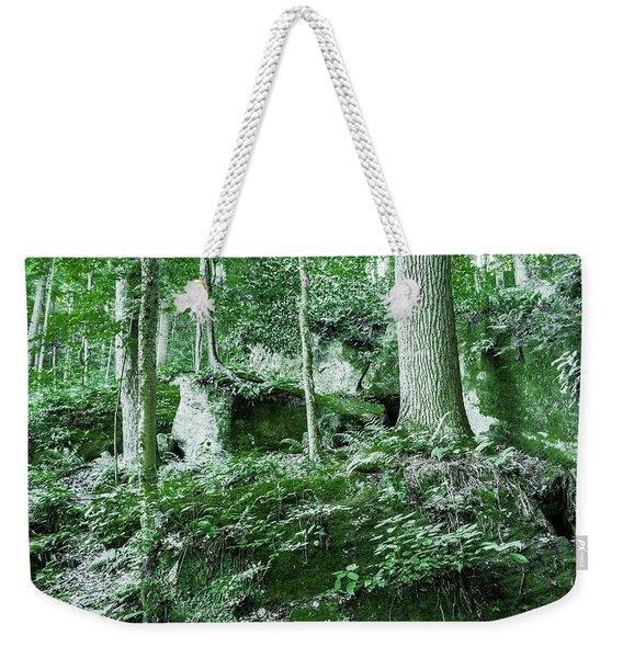Slippery Rock Gorge - 1902 Weekender Tote Bag