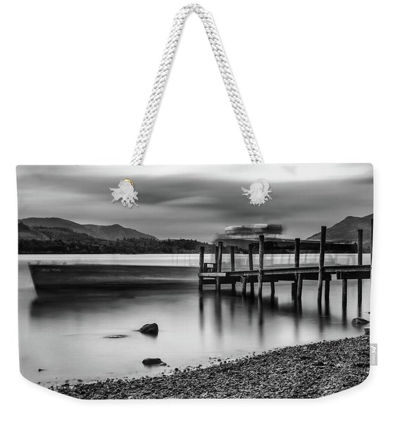 Slipping The Jetty Weekender Tote Bag