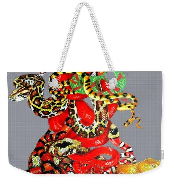 Slither Weekender Tote Bag