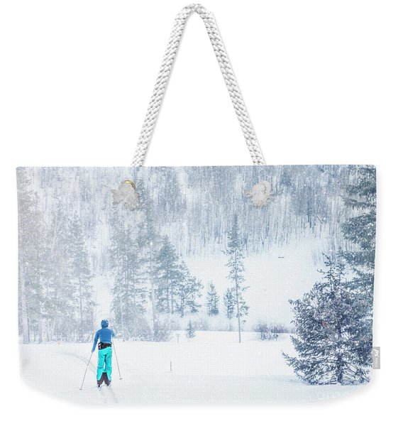 Slopes Weekender Tote Bag