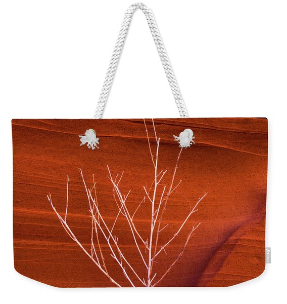 Slot Canyon Sentinel Weekender Tote Bag