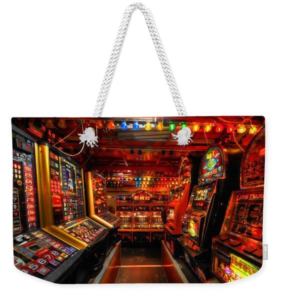 Slot Machines Weekender Tote Bag