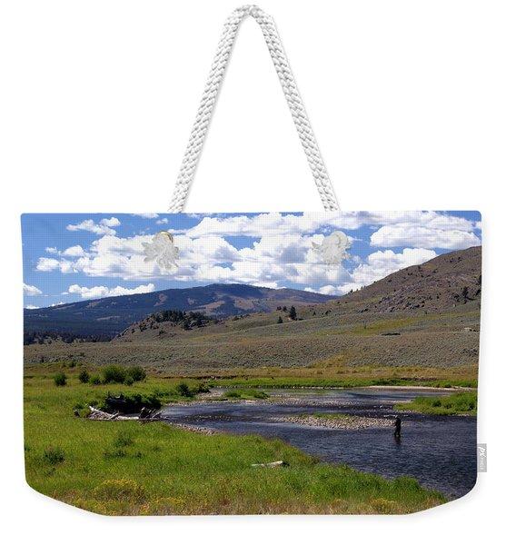 Slough Creek Angler Weekender Tote Bag