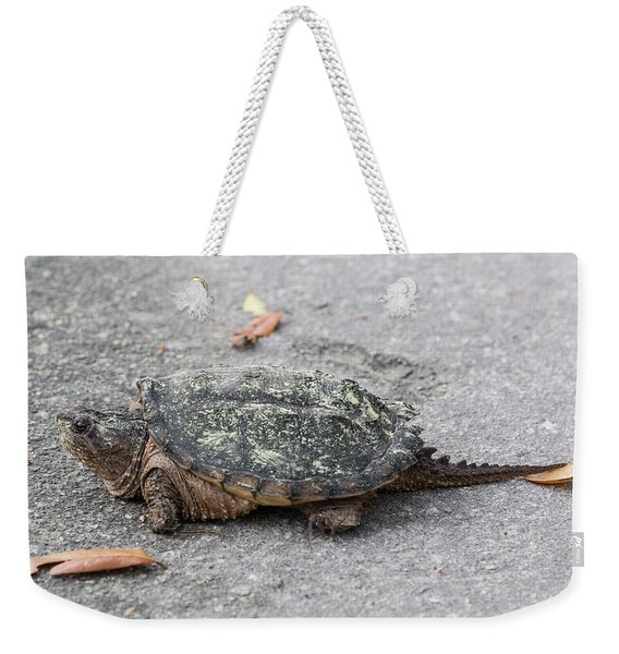 Slow Crossing 3 March 2018 Weekender Tote Bag