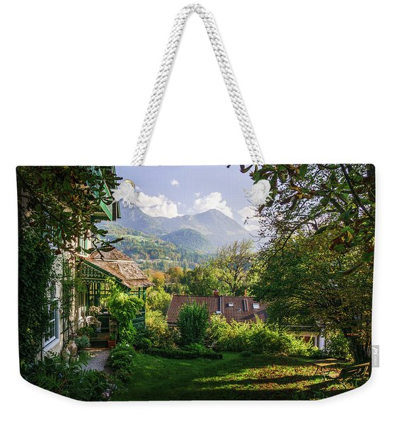 Weekender Tote Bag featuring the photograph Slow Down by Dmytro Korol