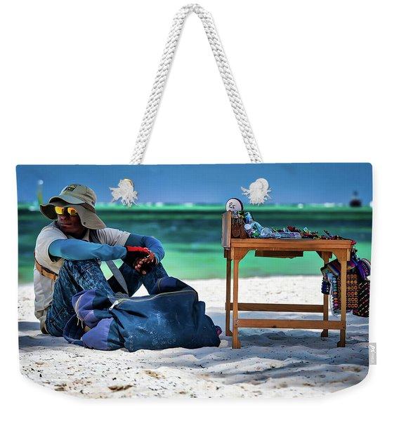 Slow Sales Day Weekender Tote Bag