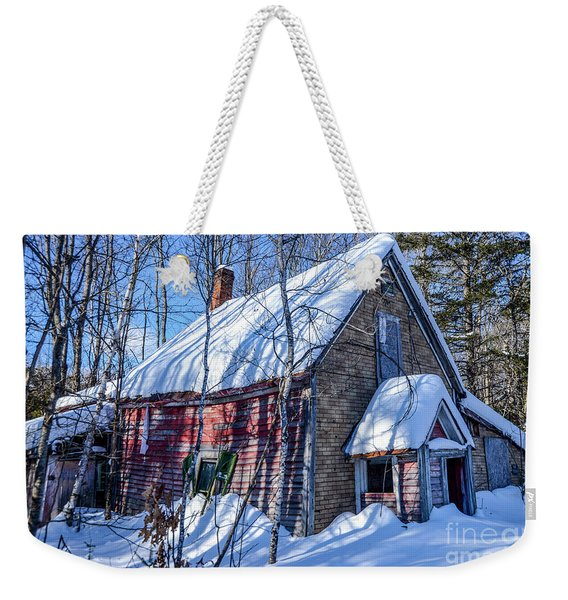 Small Abandon House Weekender Tote Bag