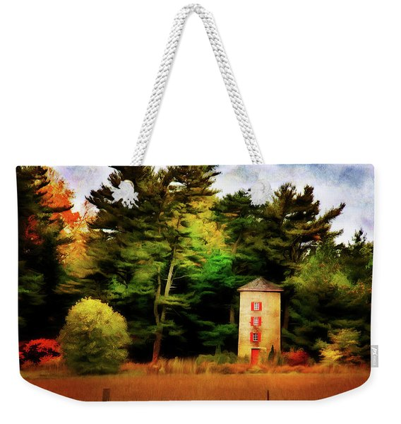 Small Autumn Silo Weekender Tote Bag