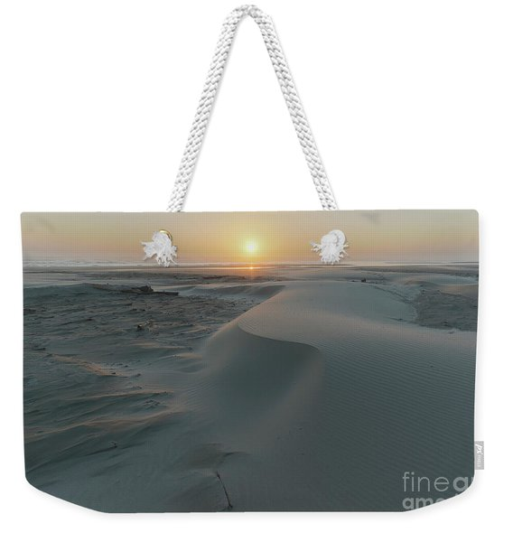 Small Sand Dunes On The Beach Weekender Tote Bag