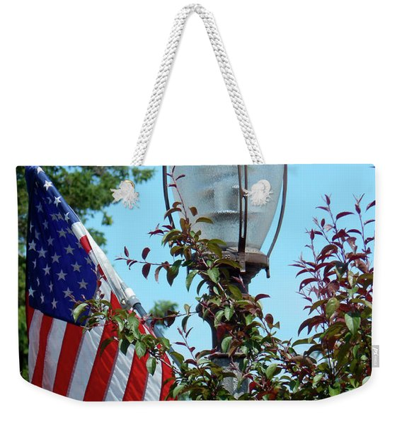 Small Town Anywhere Usa Weekender Tote Bag