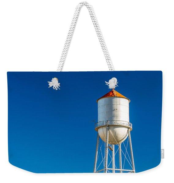 Small Town Water Tower Weekender Tote Bag