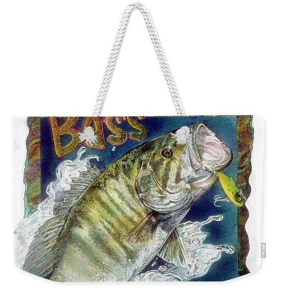 Smallmouth Bass Weekender Tote Bag