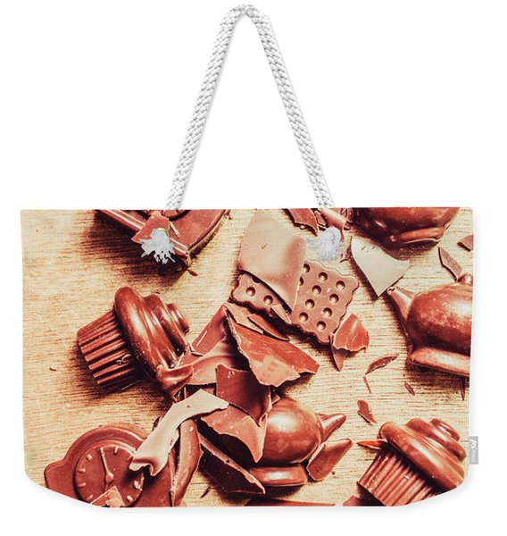 Smashing Chocolate Fondue Party Weekender Tote Bag