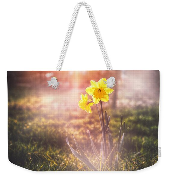 Smell Of The March 2 Weekender Tote Bag