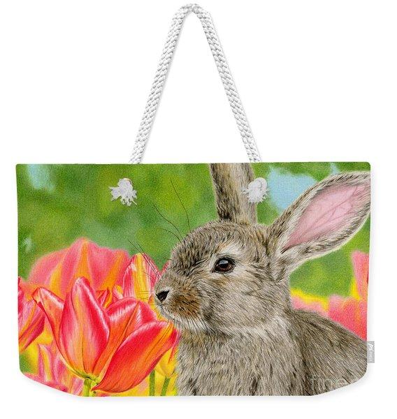 Smell The Flowers Weekender Tote Bag