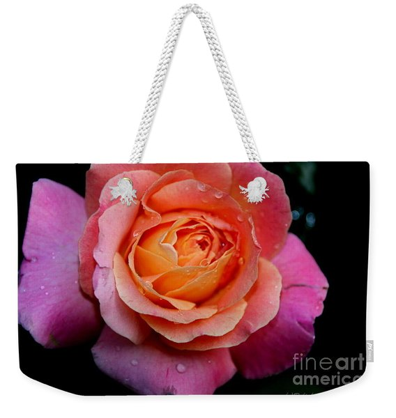 Smell The Rose Weekender Tote Bag