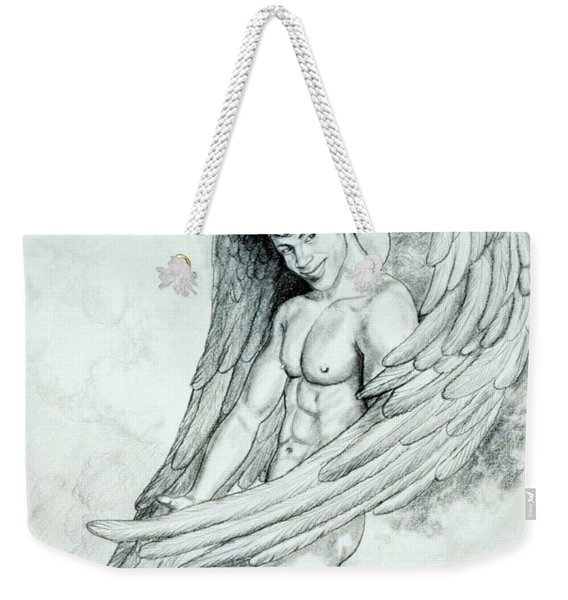 Smiling Angel Weekender Tote Bag