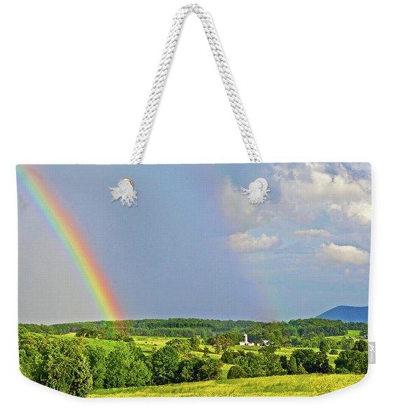 Smith Mountain Lake Rainbow Weekender Tote Bag