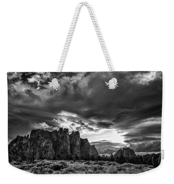 Smith Rock Fury Weekender Tote Bag