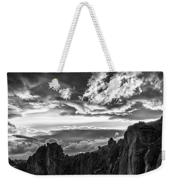 Smith Rock Skies Weekender Tote Bag