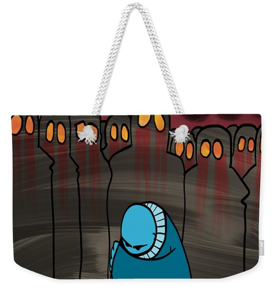 Smog Attack Weekender Tote Bag