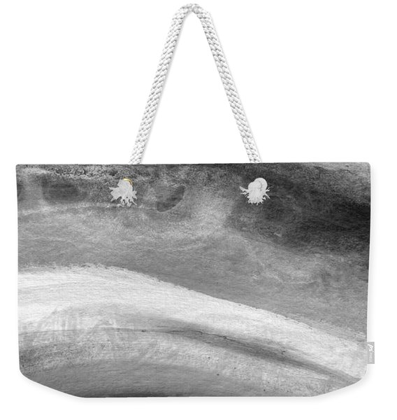 Smoke- Abstract Art By Linda Woods Weekender Tote Bag