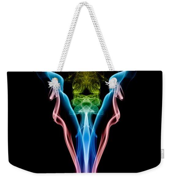 Smoke Demon Weekender Tote Bag