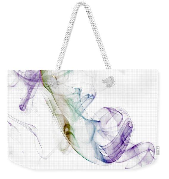 Smoke Seahorse Weekender Tote Bag
