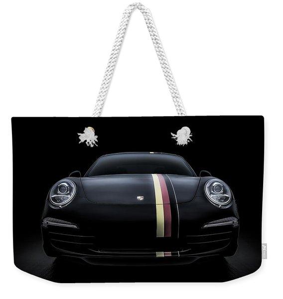 Black Porsche 911 Weekender Tote Bag