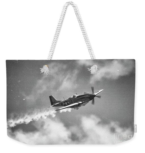 Smokin 51 Bw Weekender Tote Bag