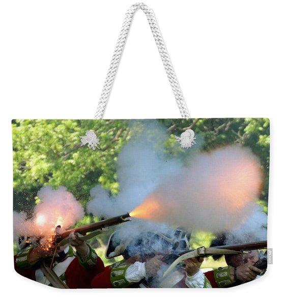 Smoking Guns Weekender Tote Bag