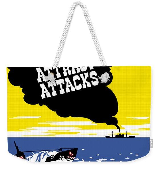 Smoking Stacks Attract Attacks Weekender Tote Bag