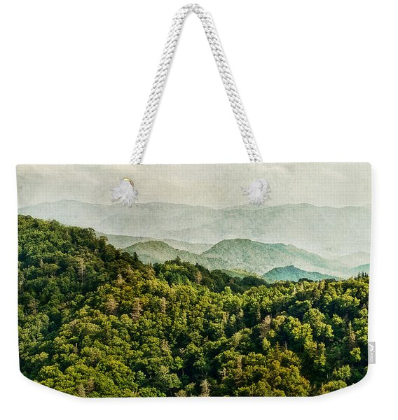 Smoky Mountain Reflections Weekender Tote Bag