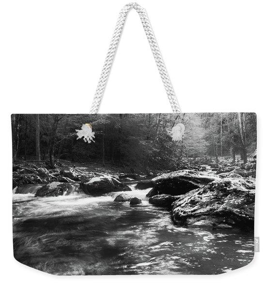 Smoky Mountain River Weekender Tote Bag