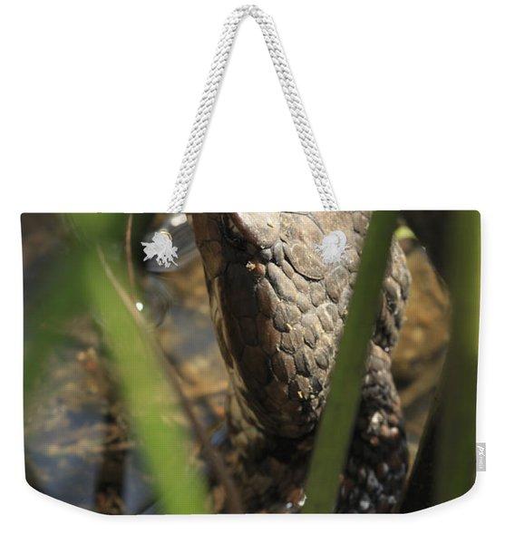 Snake In The Water Weekender Tote Bag