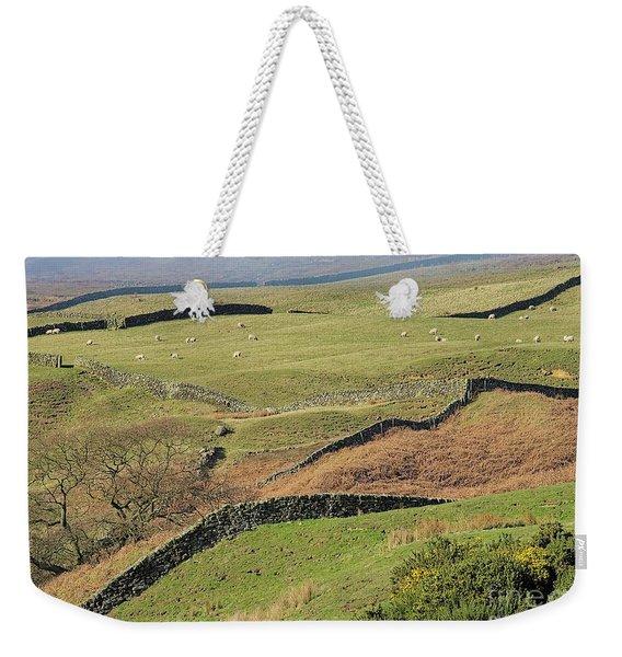 Snaking Stone Walls Weekender Tote Bag