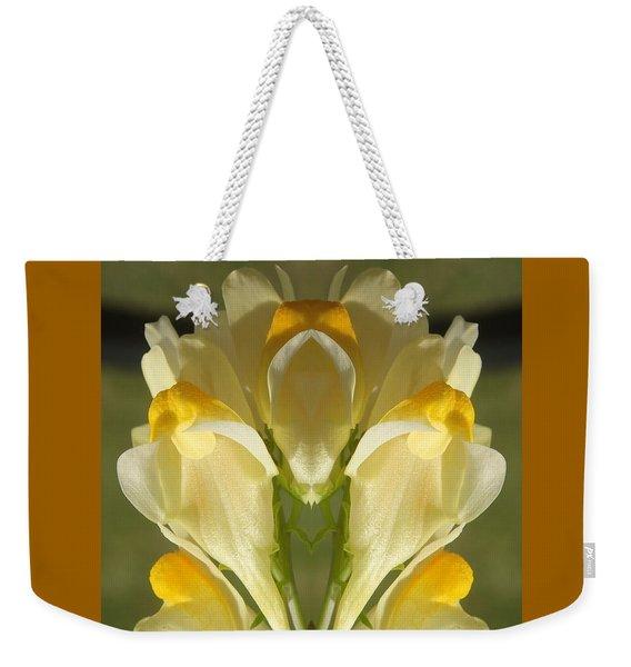 Snappy Bouquet Weekender Tote Bag