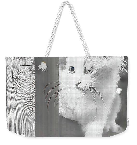 Sneak Peek Weekender Tote Bag