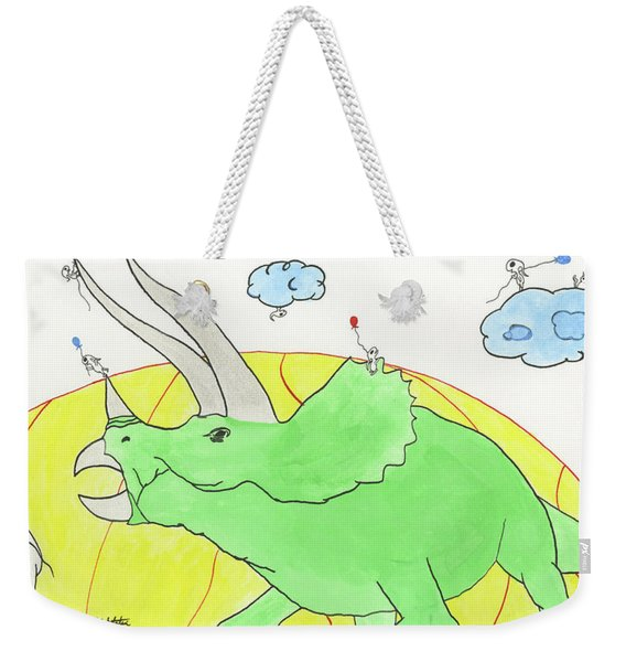 Sneakrets At The Extinction Moment Weekender Tote Bag