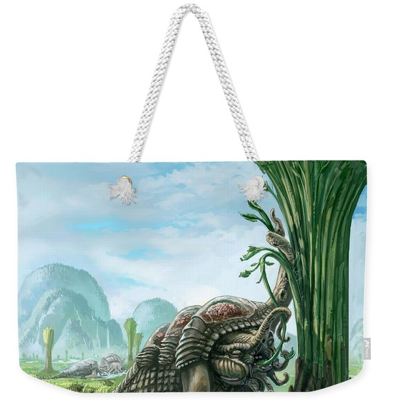 Snelephant Weekender Tote Bag