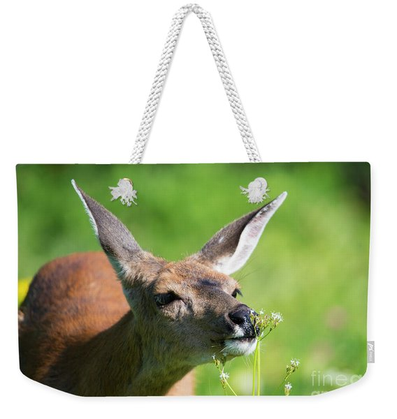 Sniffing Out Dinner Weekender Tote Bag