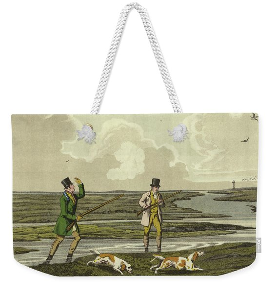Snipe Shooting Weekender Tote Bag
