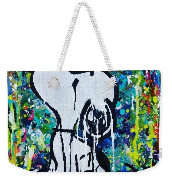 Snoopy.cosmos Weekender Tote Bag